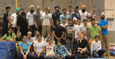 Chai Blog Part II rock climbing group pic