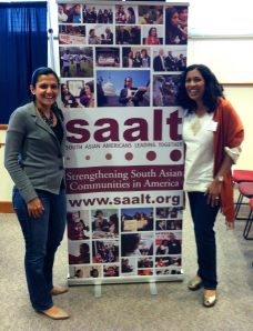 Preet and I at SAALT