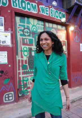 Gowri Koneswaran, Esq., will be leading the poetry workshop, Lives Like Anthologies, and emcee'ing the event