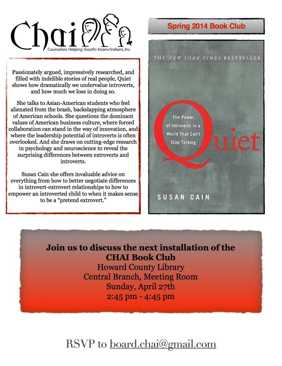 quiet book club flier jpg